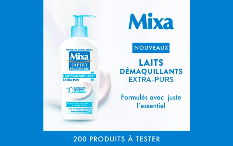 mixa beaute test